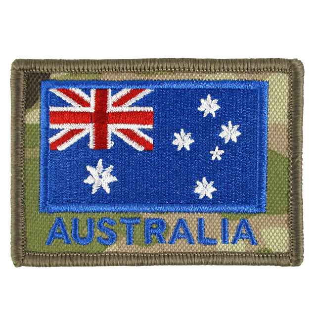 Australian Flag Velcro Patch