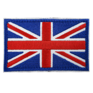 Union Jack Flag Embroidered Patch