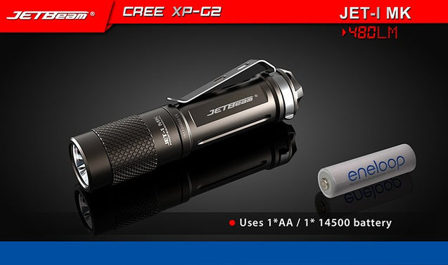 JETBeam 1MK Flashlight 480 Lm