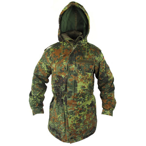 German Flecktarn Parka - With Liner