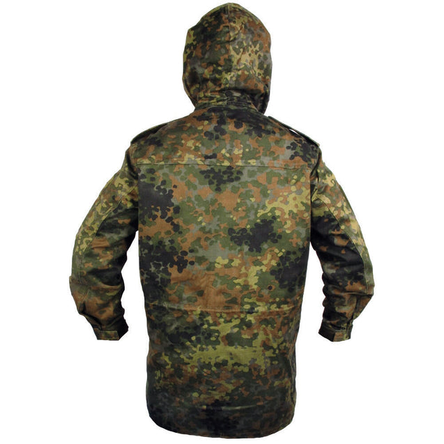 German Flecktarn Parka No Liner - New