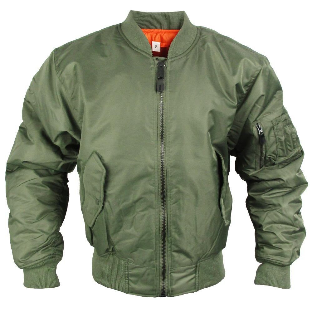 MA-1 Sage Green Flight Jacket  b986c63615f