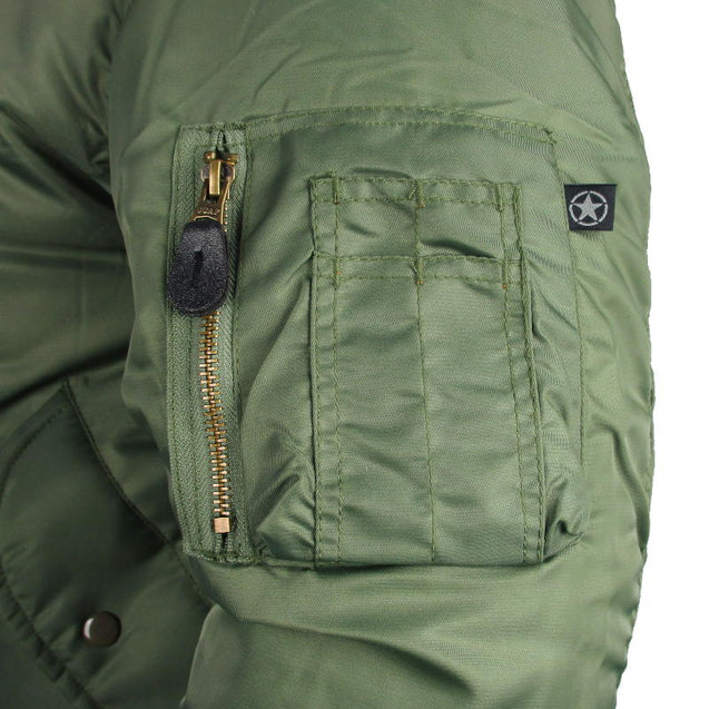 MA-1 Bomber Flight Jacket - Green