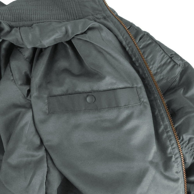 Urban Grey Tactical Flight Jacket