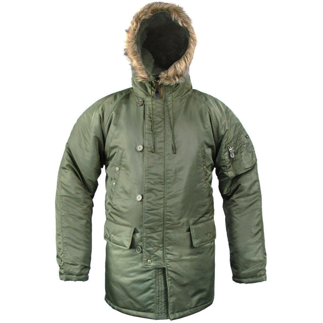 N3B Cold Weather Parka - Green