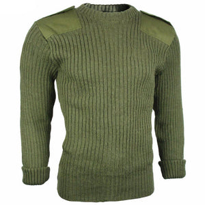 British Army Olive Drab Wool Jersey
