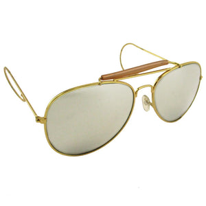 Mirrored Aviator Sunglasses