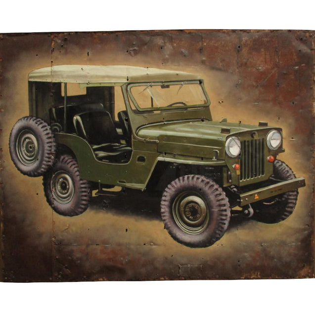 Army Jeep Painting