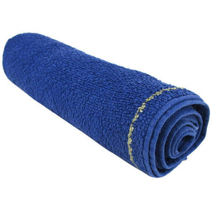 German Blue Terry Cloth Towel