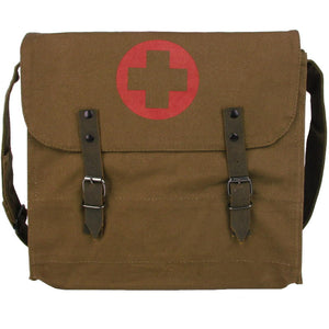 Vintage Medics Canvas Shoulder Bag