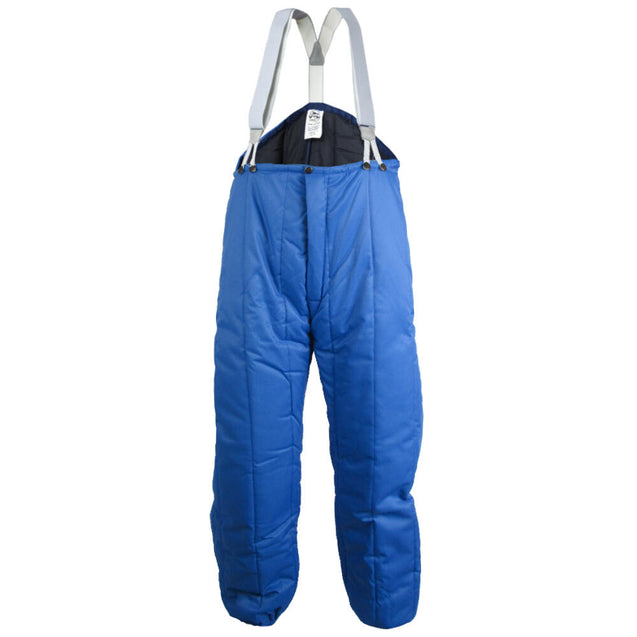 French Light Blue Thermal Bib Overalls