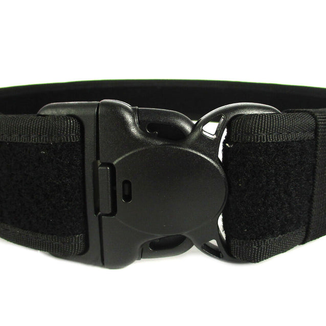 Black Security Belt with Plastic Clip