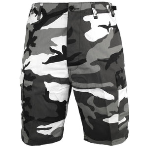 BDU Urban Camo Shorts