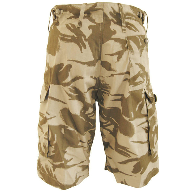 British Army Desert Camo Shorts