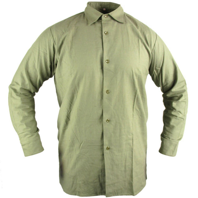 Czech Green Service Shirt Used