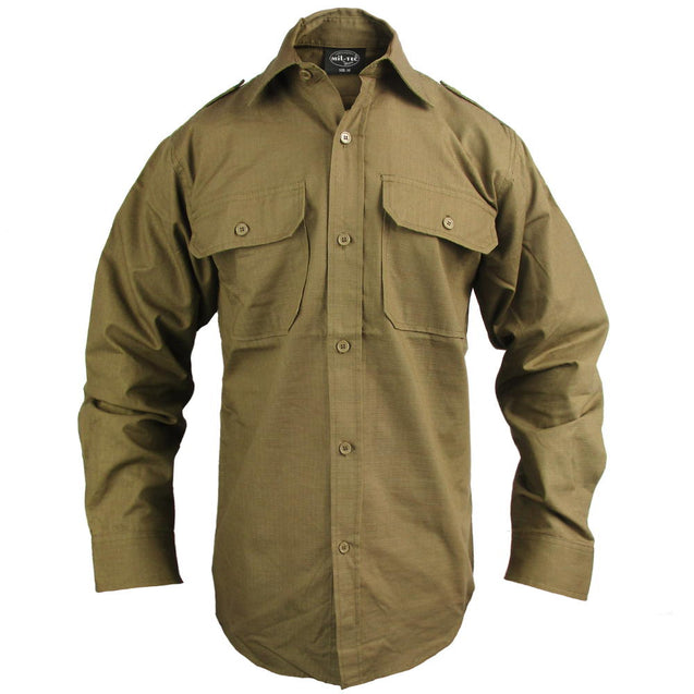 Coyote Ripstop Field Shirt