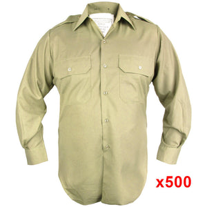 500 Australian Issue Khaki Shirts
