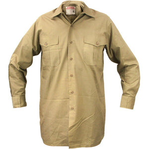 German Army Khaki Long Sleeve Shirt