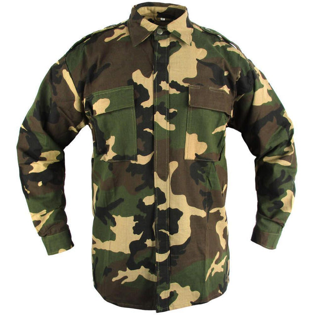 Croatian Army Woodland Shirt - New