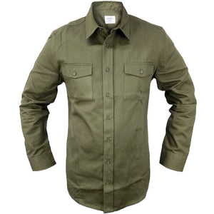 Olive Drab Long Sleeve Shirt