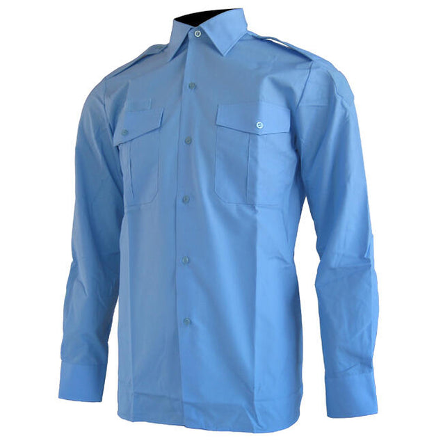 French Gendarme Sky Blue Shirt