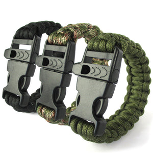 Paracord Whistle Bracelet