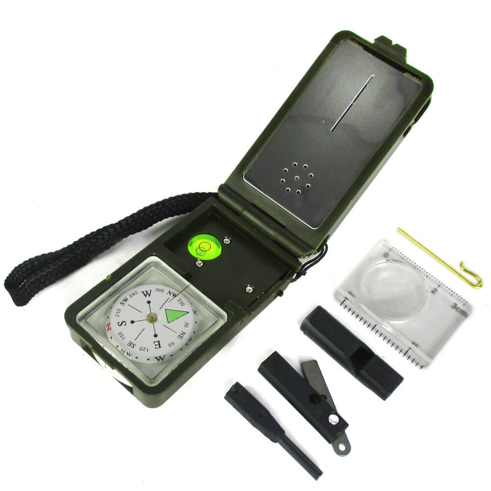 Mil-Tec Survival Compass - 10 Functions
