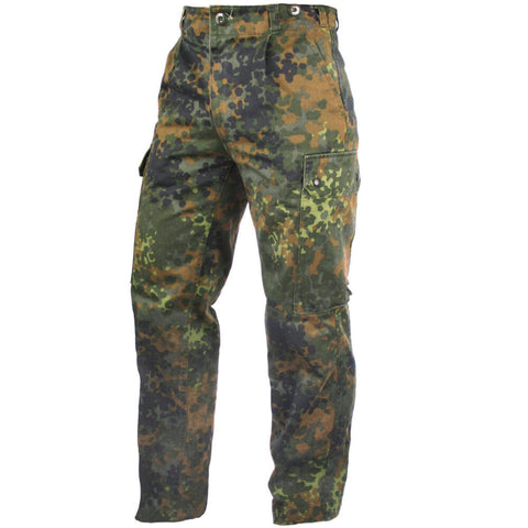 German Flecktarn Trousers - Used