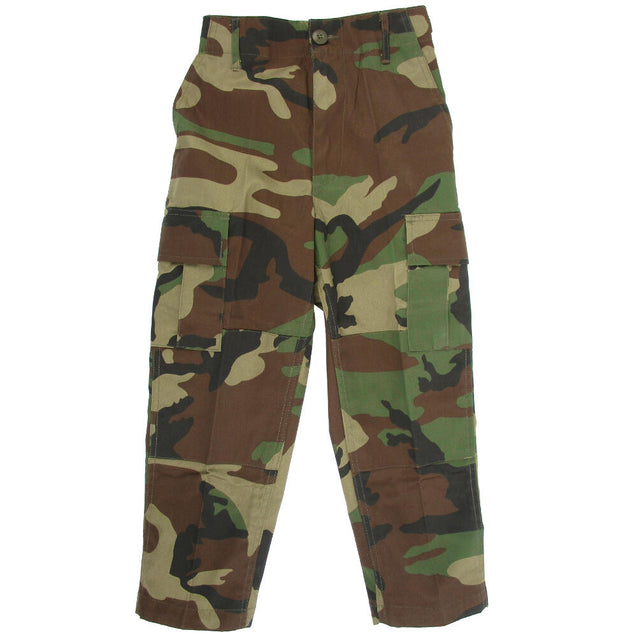 Kids Woodland BDU Trousers