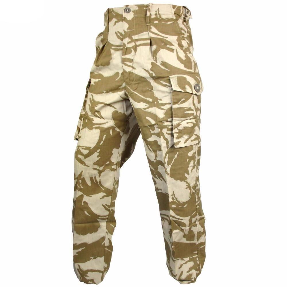 top-rated great discount sale good service Details about British Army Desert Disruptive Pattern Material (DDPM)  Camouflage Trousers - New
