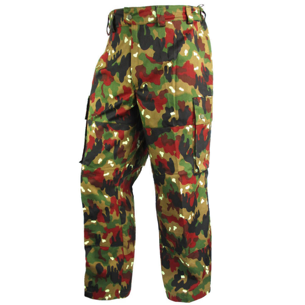 3989d56ebea40 Swiss Alpenflage M83 Trousers New | Army & Outdoors