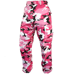 Tactical Camo BDU Pants - Pink