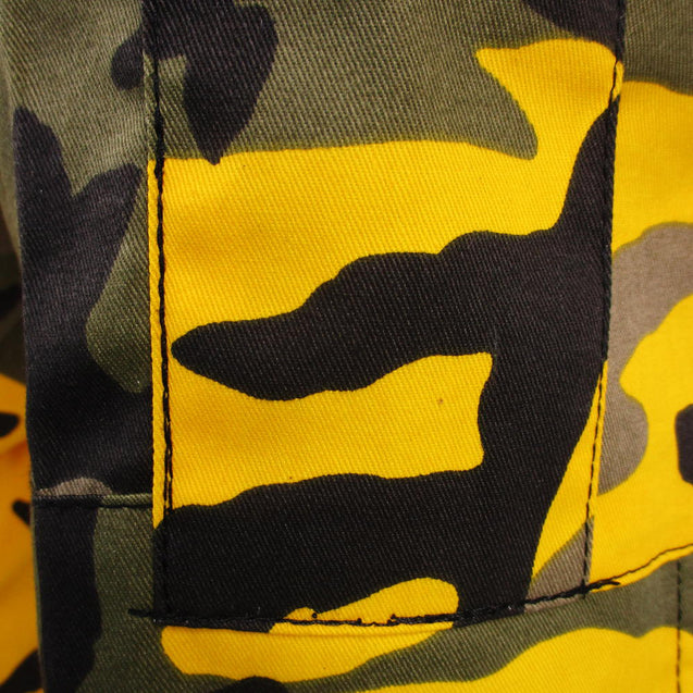 Tactical Camouflage BDU Pants - Yellow