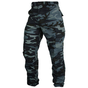 Tactical Camo BDU Pants - Midnight Blue