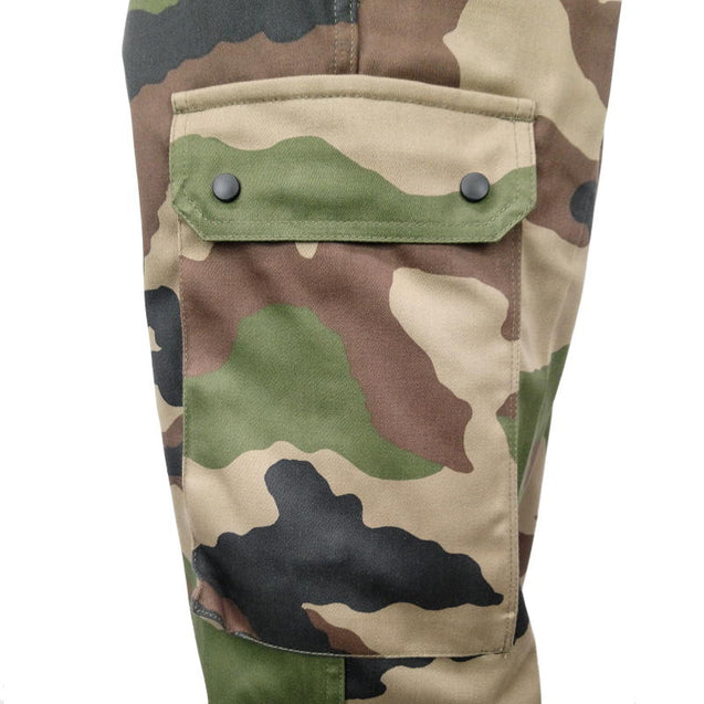 French CE Camouflage Trousers - New