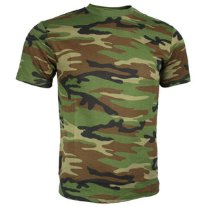 Kids Woodland Camo T-Shirt