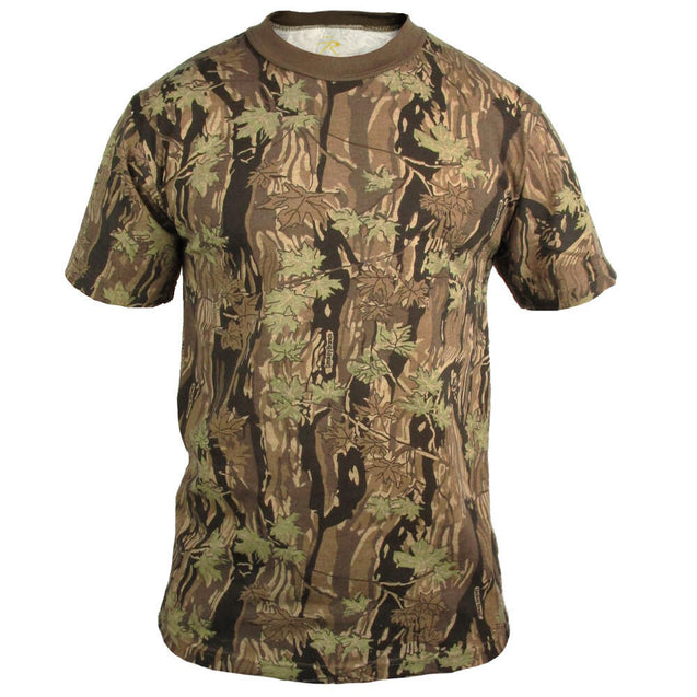Coloured Camo T-Shirt - Smokey Branch