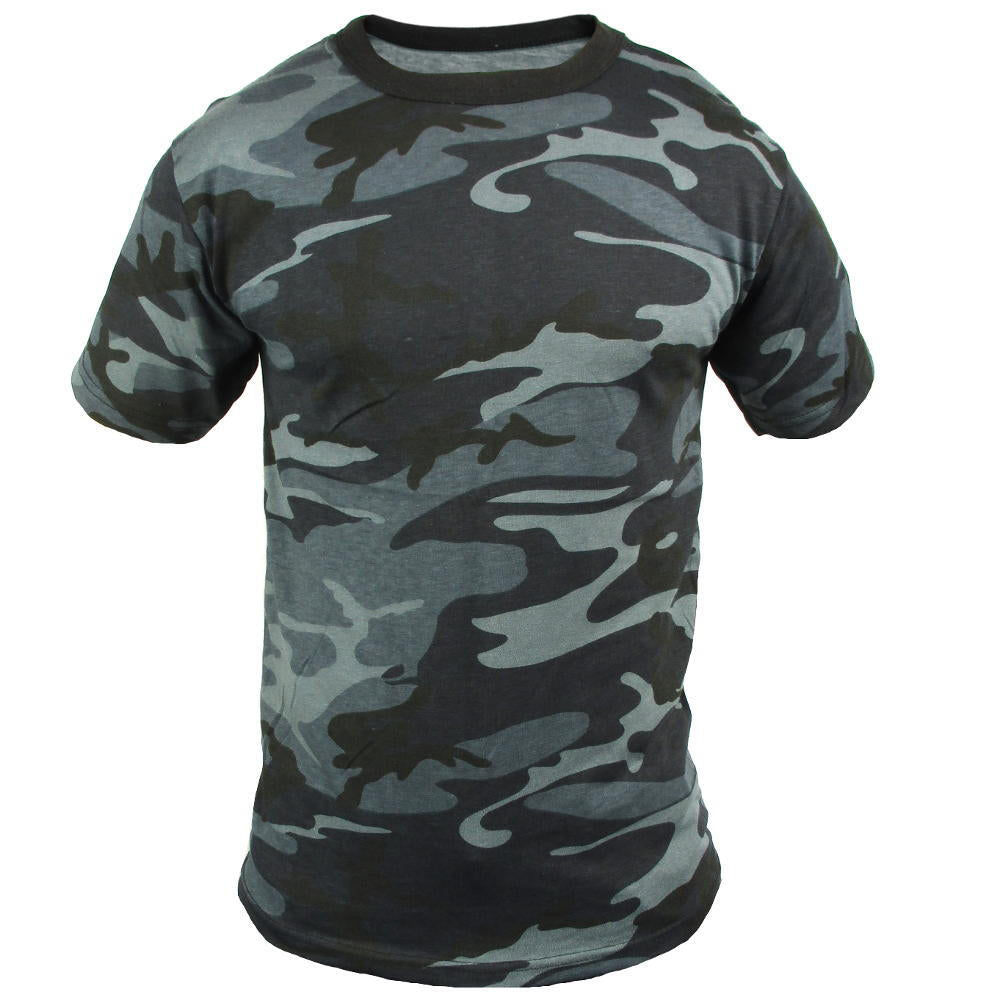 bbba0eb5 Coloured Camo T-Shirt - Midnight Blue | Army & Outdoors