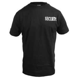 Black Security T-Shirt