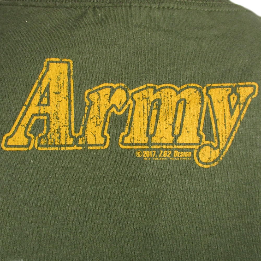 Army T Shirt Designs | 7 62 Design Army Retro Green T Shirt Army And Outdoors Army