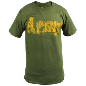 7.62 Design 'Army Retro Green' T-Shirt