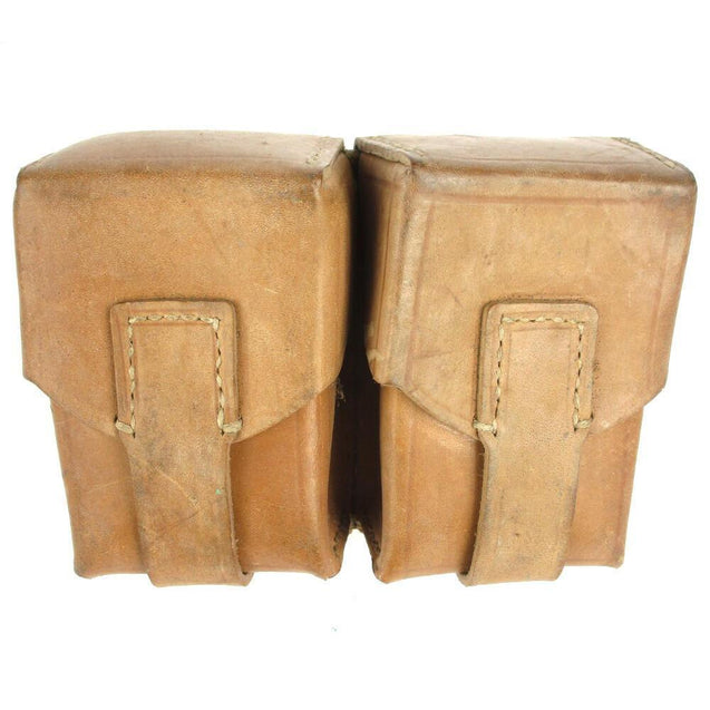Serbian Leather Twin Mag Pouch