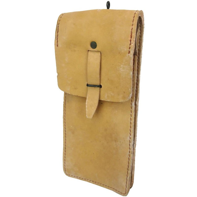 French Leather Mag Pouch