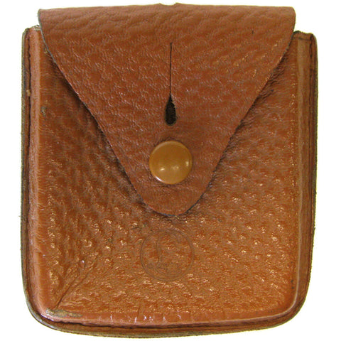 Belgian Leather Compass Pouch