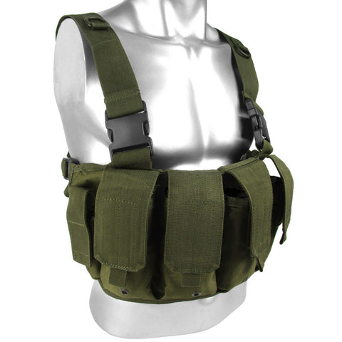 OD 6 Pocket Chest Rig