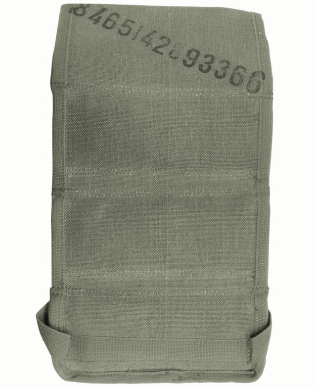 French Canvas Triple Grenade Pouch