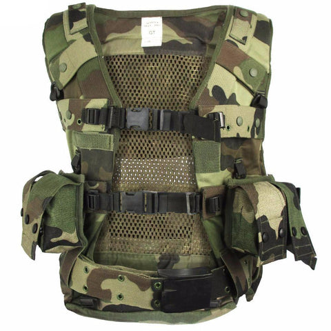 French CE Camo Assault Vest