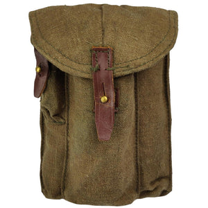 Russian Canvas Triple Mag Pouch