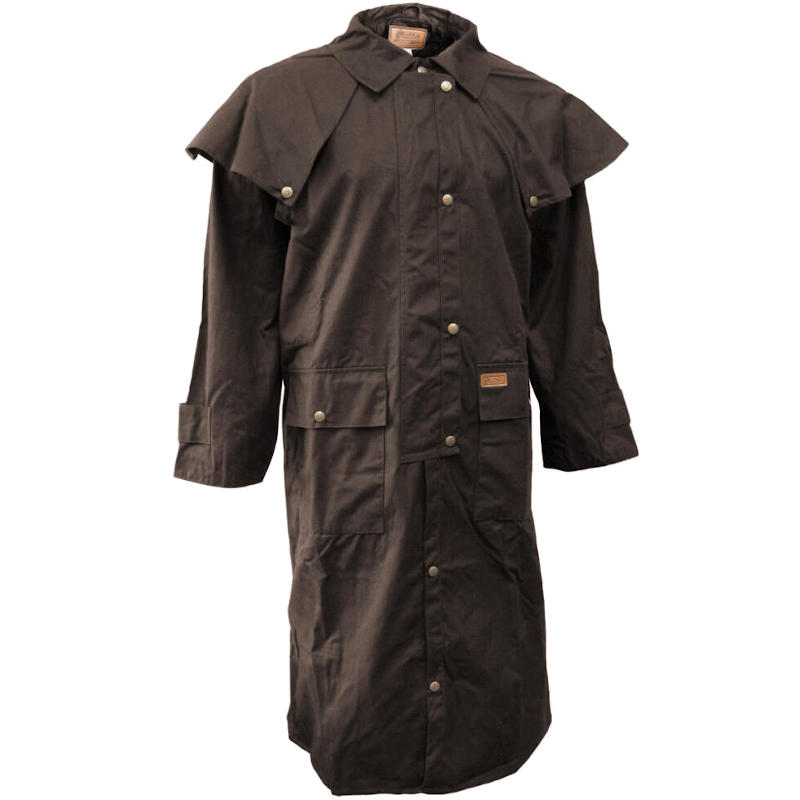 Low Riding Oilskin Coat