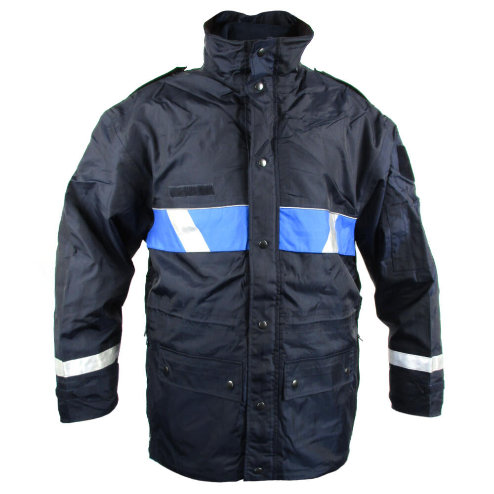 French Dark Blue Police Jacket